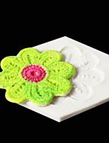 Недорогие -Цветок фондант печенье шоколад силиконовые украшения торта плесень diy
