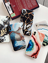 cheap -Case For Apple iPhone 11 / iPhone 11 Pro / iPhone 11 Pro Max /6/6p/7/8/7p/8p/x/xr/xsmax IMD / Ultra-thin / Pattern Back Cover Marble Silicone