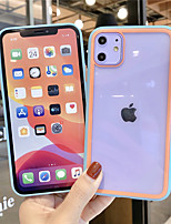 cheap -Case For Apple iPhone 11 / iPhone 11 Pro / iPhone 11 Pro Max Shockproof / Transparent Back Cover Transparent Silicone / PC