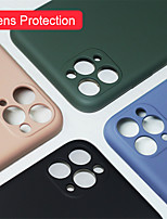 cheap -For iPhone 11 Pro / 11 / 11 Pro Max Case Luxury Silicone Full Protection Soft Cover for iPhone XS / XR / XS Max / 8Plus / 7Plus / 8 / 7 Phone Case