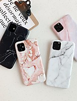 cheap -Case for Apple scene map iPhone 11 11 Pro 11 Pro Max X XS XR XS Max 8 marble pattern fine frosted TPU material IMD process phone case