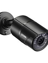 Недорогие -zosi 1080p h.265 hd poe ip-камера 2-мегапиксельная пуля видеонаблюдения ip-камера для системы poe nvr водонепроницаемый открытый ночного видения