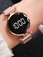 cheap -Ladies Quartz Watches Elegant Fashion Rose Gold Alloy Chinese Quartz Rose Gold Blushing Pink Red New Design Casual Watch 1 pc Digital One Year Battery Life