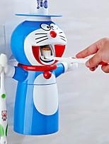 Недорогие -творческий мультфильм без ударов милый набор для стирки детей автоматическая зубная паста зубная паста соковыжималка держатель зубной щетки