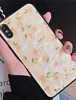 Недорогие -Кейс для Назначение Apple iPhone XR / iPhone XS Max / iphone 7/8 С узором Кейс на заднюю панель Плитка ТПУ