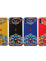 cheap -Case For Apple iPhone 11 / iPhone 11 Pro / iPhone 11 Pro Max IMD Back Cover Tile / Cartoon TPU