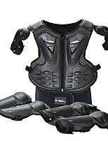 Недорогие -защитное снаряжение для мотоциклистов детская броневая одежда верховая езда защитный износостойкий костюм жилетки спортивная броня наколенники локоть