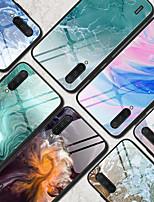 Недорогие -чехол для xiaomi сцена карта redmi note 8 примечание 8 pro note 8t цветной мраморный рисунок закаленное стекло задняя панель тпу рама 2-в-1 анти-капля чехол для мобильного телефона jmgd
