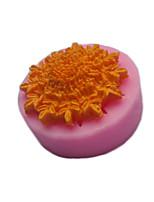 cheap -1pcs Cake Fondant Decoration Tool Baking Mold Silicone DIY