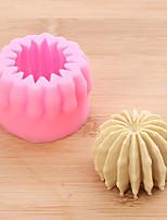 cheap -3D Cactus Succulent Fondant Cake Mold Diy Chocolate Silicone Baking Tool 1pcs