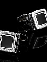 Недорогие -Запонки Мода Брошь Бижутерия Серебряный Назначение Подарок Повседневные