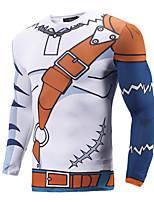 Недорогие -Вдохновлен Digital Monster / Digimons Толстовка Как у футболки Полиэстер С принтом Рисунок маскарадный Толстовка Назначение Муж.