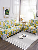 cheap -Sofa Cover Plants / Print / Classic Printed Polyester Slipcovers