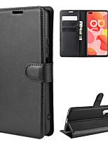Недорогие -для huawei nova 6 4g текстурный личи горизонтальный кожаный чехол с бумажником&усилитель; держатель&усилитель; слоты для карт