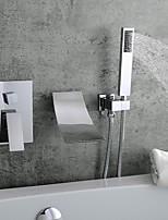 Недорогие -Смеситель для раковины в ванной комнате - настенное крепление