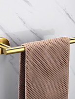 Недорогие -золотой полотенцесушитель высшего качества новый дизайн / креативный антиквариат / современная нержавеющая сталь / низкоуглеродистая сталь / металлическая 1шт - кольцо для ванной комнаты настенное
