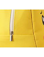 """Недорогие -Жен. Молнии Ткань """"Оксфорд"""" Сумка с верхней ручкой Персонажи Желтый"""