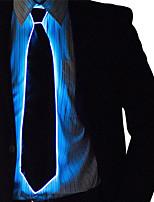 Недорогие -Прямоугольный Светящийся галстук Ночные светильники Новый дизайн / обожаемый / Cool Включение / выключение Аккумуляторы AA 1шт