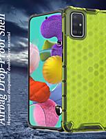 Недорогие -Кейс для Назначение SSamsung Galaxy S20 Plus / S20 Ultra / S20 Защита от удара Кейс на заднюю панель Однотонный / Геометрический рисунок ТПУ / ПК