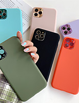 Недорогие -iphone11pro макс официальная 11 защитная крышка для глаз жидкий силиконовый чехол для мобильного телефона 11pro сплошной цвет четыре пакета анти-падения 11 защитная крышка