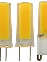Недорогие -1шт 3 W Двухштырьковые LED лампы 300 lm G9 G4 G8 2 Светодиодные бусины COB Диммируемая Декоративная Тёплый белый Белый 220 V 110 V