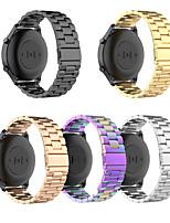 Недорогие -Ремешок для часов для Сяоми смотреть цвет Xiaomi Бизнес группа Нержавеющая сталь Повязка на запястье