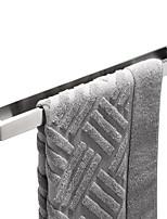 Недорогие -новый дизайн для полотенца / самоклеящийся / современный креатив / современный из нержавеющей стали + комплект для прессования / из нержавеющей стали 1pc - ванная комната 1 настенный полотенцесушитель