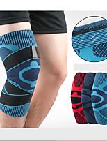 Недорогие -Фиксатор колена Колено рукав для Боль в суставах и артретит Бег Марафон Регулируется Фиксирующий шнурок Сжатие видеоизображений Быстровысыхающий Дышащий Муж. Жен. Лайкра спандекс 1 шт.