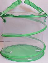 Недорогие -большая складная бабочка клетка-клетка для насекомых вахта-сетка кормление ведро комаров ящик для сбора насекомых сетка инструмент