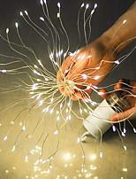 Недорогие -1m Гирлянды 50 светодиоды Разные цвета Для вечеринок / Декоративная 5 V