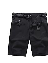 cheap -Men's Hiking Shorts Hiking Cargo Shorts Outdoor Breathable Ventilation Ultra Light (UL) Soft Shorts Bottoms Camping / Hiking Hunting Fishing Dark Grey Army Green Black S M L XL XXL Loose
