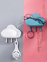 Недорогие -Облако форма крюк сильный вискоза кухня на стене липкий крюк ванная комната бесплатный удар мыло ящик сливной вешалка