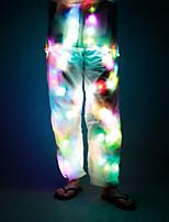 Недорогие -Квадратная Светодиодная одежда Ночные светильники Новый дизайн / Свадьба / Многоразового использования Включение / выключение Аккумуляторы AA 1шт