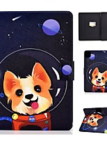 cheap -Case For Apple iPad Air/iPad Mini 3/2/1/4/5 Card Holder / Flip / Pattern Full Body Cases Dog PU Leather For iPad Air 10.5 2019/iPad 10.2/Pro 11 2020/iPad 2017/iPad 2018