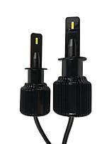 Недорогие -отолампара 2шт h1 автомобильные лампочки 75 Вт csp1919 6000 лм 2 светодиодные фары для Ford / Chevrolet Silverado / Explorer / Focus 2018/2010/2011