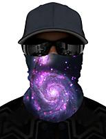 Недорогие -Муж. Классический бандана Галактика / С принтом / Контрастных цветов