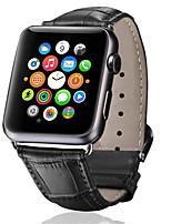 Недорогие -ремешок для часов для Apple Watch серии 5/4/3/2/1 яблоко классическая пряжка ремешок из натуральной кожи