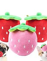 Недорогие -Плюшевые игрушки Игрушки с писком Собаки Животные Игрушки 1шт Подходит для домашних животных Плюш Подарок