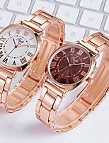 cheap -Ladies Quartz Watches Elegant Fashion Rose Gold Alloy Chinese Quartz Red Green Blue Casual Watch 1 pc Analog One Year Battery Life