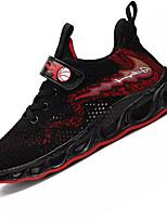 Недорогие -Мальчики Удобная обувь Сетка Спортивная обувь Большие дети (7 лет +) Для прогулок Красный / Белый Лето