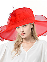 cheap -Queen Elizabeth Audrey Hepburn Retro Vintage Summer Kentucky Derby Hat Fascinator Hat Women's Costume Blushing Pink / Light Purple / Red Vintage Cosplay Party Evening Tea Party Festival