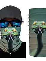 Недорогие -Муж. 3D принт Квадратный платок Цветочный принт / С принтом / Контрастных цветов