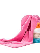 Недорогие -Микроволокно Спортивное полотенце Полотенце для туризма Тренажерный зал Полотенце Муж. Жен. Полотенце для рук Пот полотенце Однотонный Легкость Быстровысыхающий Супер Абсорбент для / Зима