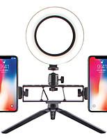 Недорогие -26см usb ring light tiktok light youtube видео с 3-мя цветными режимами и светодиодной подсветкой