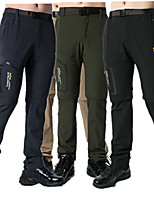 cheap -Men's Hiking Pants Outdoor Waterproof Breathable Quick Dry Sweat-wicking Pants / Trousers Bottoms Hunting Fishing Climbing Army Green Light Grey Black 4XL L XL XXL XXXL Standard Fit / Wear Resistance