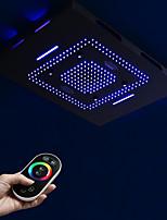 Недорогие -Современный Дождевая лейка Окрашенные отделки Особенность - LED / Для душа / Дождевая лейка, Душевая головка