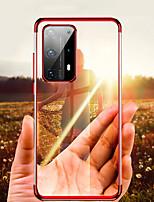 Недорогие -Кейс для Назначение Huawei Huawei P20 / Huawei P20 Pro / Huawei P20 lite Покрытие Кейс на заднюю панель Однотонный ТПУ