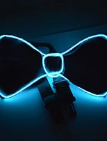 Недорогие -Oval Shape Светящийся галстук Ночные светильники Портативные / Новый дизайн / обожаемый Включение / выключение Аккумуляторы AA 1шт