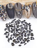 Недорогие -1*100 pcs Многофункциональный Камни и кристаллы Стразы для ногтей Кристаллы Назначение Маникюр 3D Натуральный маникюр Маникюр педикюр Повседневные Простой