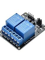Недорогие -5v 2-канальный модуль релейной платы pic avr dsp arm для arduino